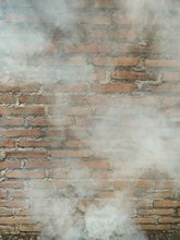 Texture Of Smoke From A Fire A...