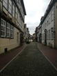 Street Amidst Residential Buildings