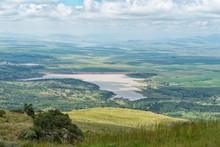 Kilburn And Woodstock Dams Seen From The Oliviershoek Pass