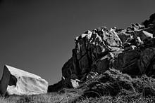 Rock Landscape In The Sea.