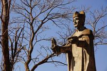 Estatua De San Bernardo En El Cerro De Salta
