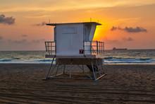 Lifeguard Huts At Fort Lauderd...