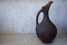 Old Arabic  Jars Of Clay. Pott...