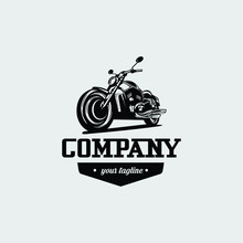 Motorcycle Logo Vector Design....