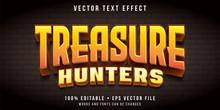 Editable Text Effect - Treasur...
