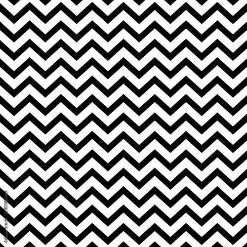 Fotografiet Seamless zigzag line pattern