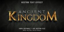 Editable Text Effect - Golden ...
