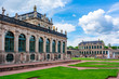 Dresdner Zwinger architecture in Dresden, Germany