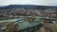 Cumberland Maryland Drone Over...