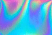 Retro Holographic Foil Backgro...