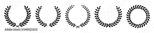 Fotografia Laurel wreath of victory icon