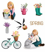 Collection Of Cute Springtime ...