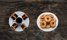 Breakfast Of Pastafrola And Do...