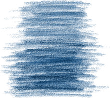 Abstract Classic Blue Grunge Watercolor Hand Paint Texture, Isolated On White Background, Watercolor Textured Backdrop, Vector Eps 10