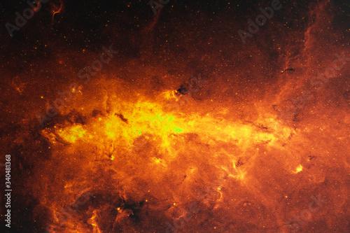 Fotografia deep space nebula
