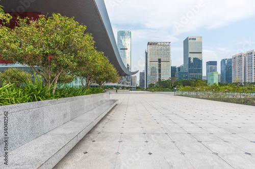 Photo Shenzhen city central axis City Scenery