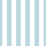 Seamless vector striped pattern. Colored stripes ornament. Vertical blue and white lines. Neutral light stock illustration for the holiday, wallpaper, wrapping paper, textiles, clothes, baby prints - 340519700