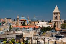 Jerusalem Skyline With Clock T...
