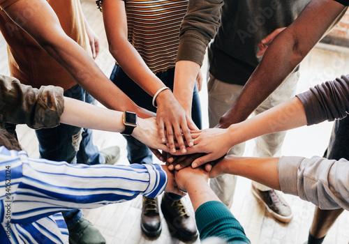 Fotomural Community of people teamwork
