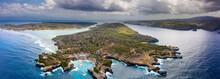 Panoramic Aerial View Of Tropi...
