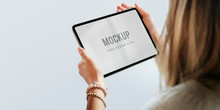 Tablet Screen Mockup Psd