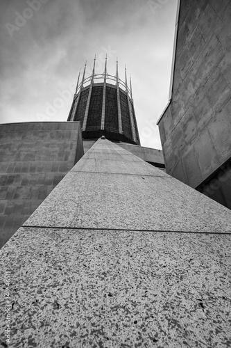 Fotografie, Tablou Liverpool Catholic Cathedral brutal image