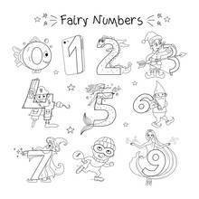 Funny Numbers From 0 To 9 In T...
