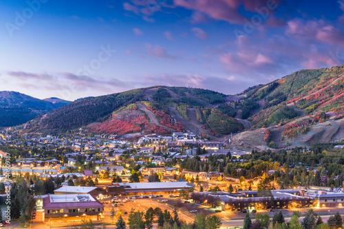 Park City, Utah, USA Canvas