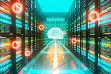 Big Data An AI Learning Concept In Server Center
