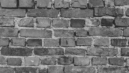czarno białe cegły