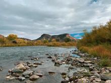Rio Grande Rocky River Bed