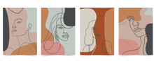 Collection Of Woman Background...
