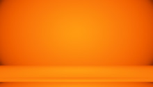Abstract Smooth Orange Backgro...