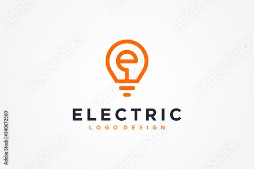 Electric Logo Wallpaper Mural