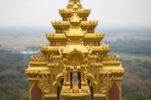 Wat Phra That Lampang Against The Sky