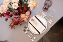 Luxury Cozy Autumn Wedding Tab...