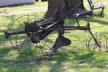 Very Old Horse Drawn Plow