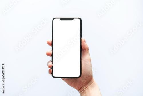 Smartphone mockup Billede på lærred