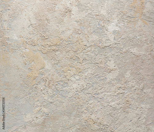 Foto Grunge wall dirty beige concrete texture background
