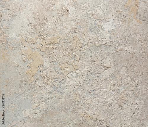 Papel de parede Grunge wall dirty beige concrete texture background