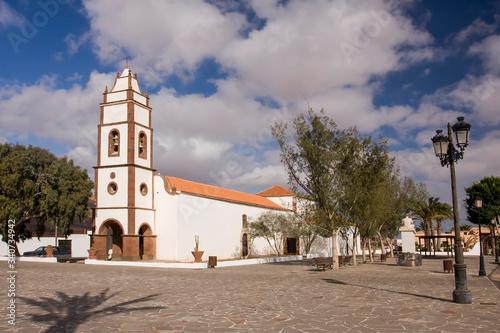 Cuadros en Lienzo Parish church of Santo Domingo de Guzman , Tetir, Fuerteventura, Canary Islands,
