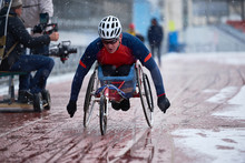 Male Athlete With Disability P...