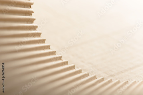 Carton or cardboard packing material Billede på lærred