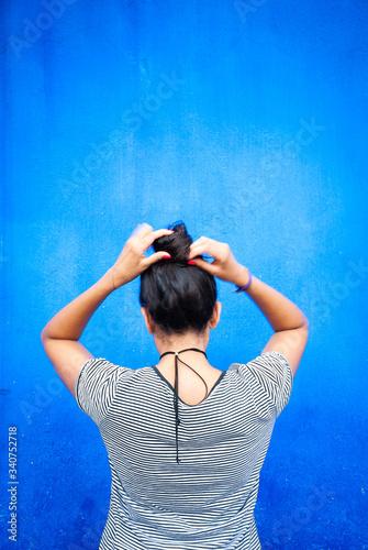 Photo Pared Azul