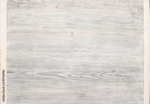 Photo White wood background with good texture