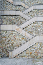 Beautiful Stairs To Bratislava...