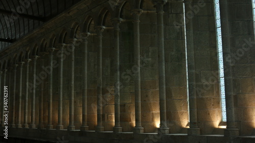 Photo Interiors of ancient buildings