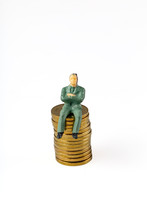Miniature People : Business Ma...