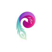 P Peacock Logo