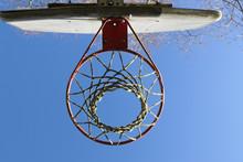 Underneath The Basketball Hoop...